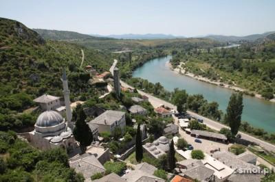 Panorama Pocitelj w Bośni