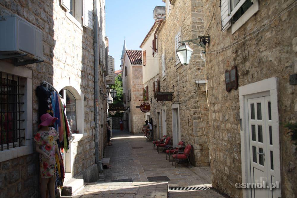 Stare miasto w Budwie Czarnogóra