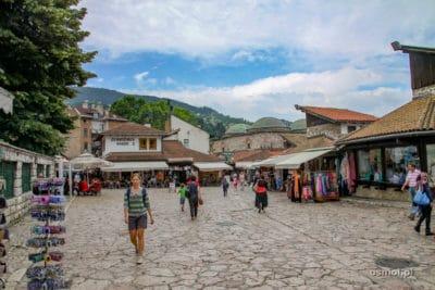 Baščaršija w Sarajewie