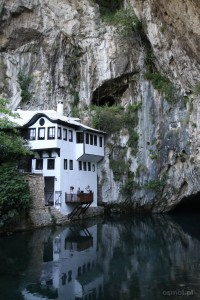 Blagaj Bośnia i Hercegowina blisko Mostaru