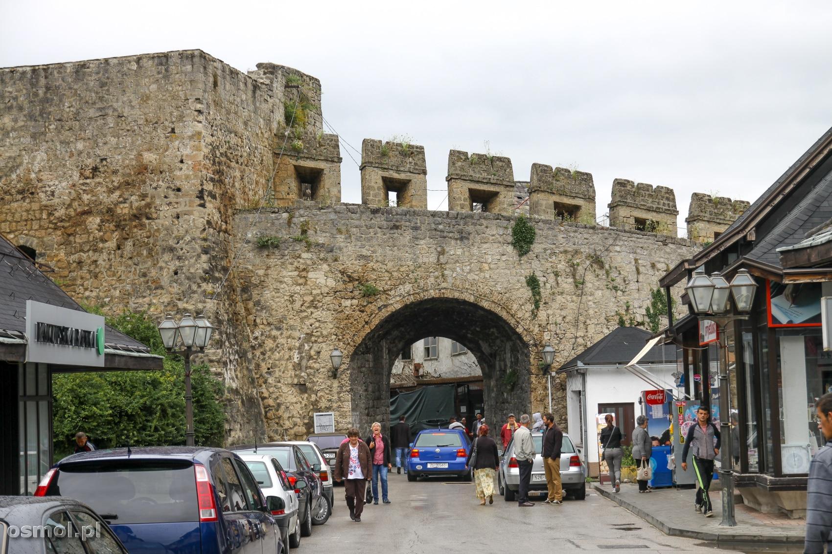 Brama Banja Luka w Jajcach. Jedna z dwóch bram wiodących do miasta