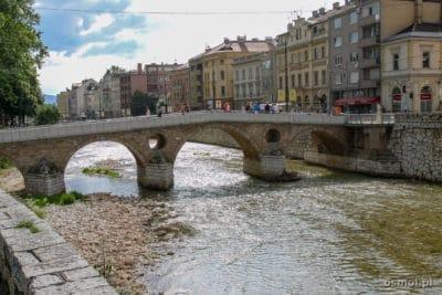 Most Łaciński w Sarajewie. Miejsce zamachu na arcyksięcia Ferdynanda