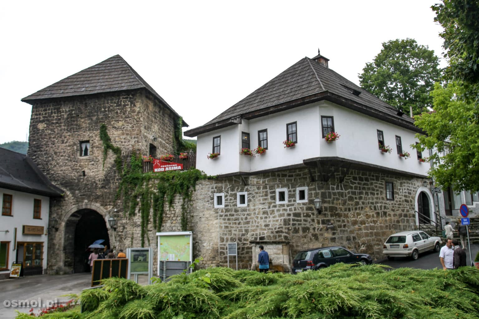 Południowa brama w Jajce Bośnia