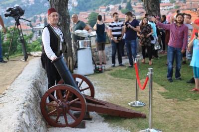 Sarajewo Wystrzał z armaty ramadan
