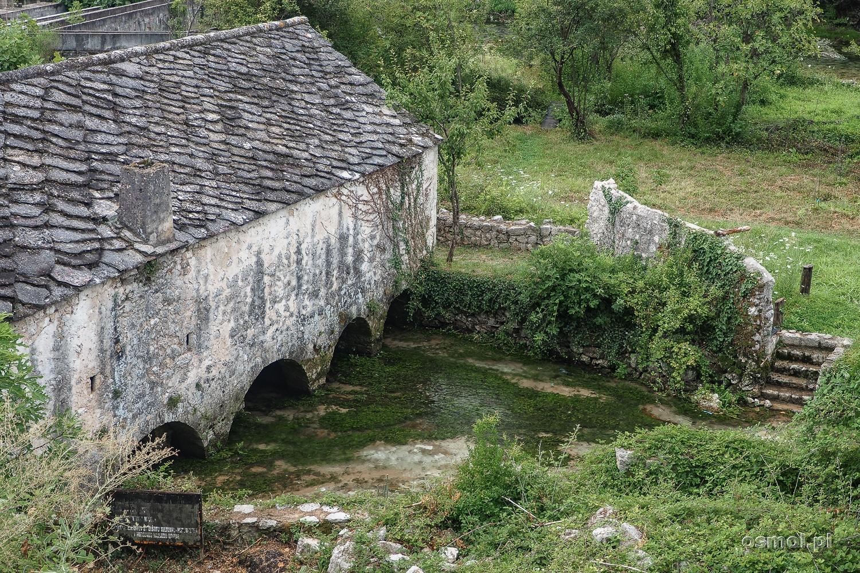 Stary budynek w Blagaj w Bośni