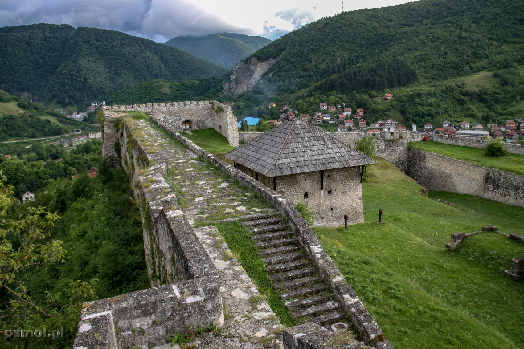 Twierdza w Jajce Bośnia i Hercegowina