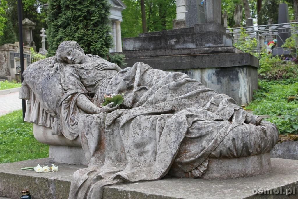 Grób Józefy Markowskiej Lwów Cmentarz Łyczakowski