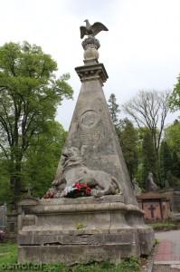 Grobowiec Juliana Ordona znanego z wiersza Adama Mickiewicza