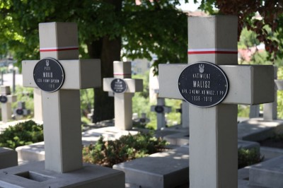 Cmentarz Orląt Lwowskich - nagrobek