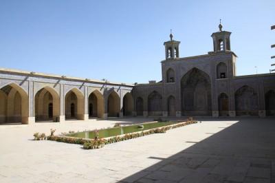 Różowy meczet. Jedna z najwiekszych atrakcji Shiraz oraz całego Iranu