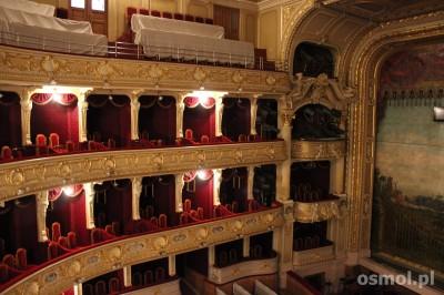 Wnętrze opery lwowskiej