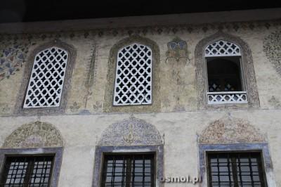 Kolorowy Meczet w Travniku Bosnia ściana