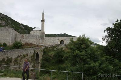 Widok na twierdze w Travniku Bosnia