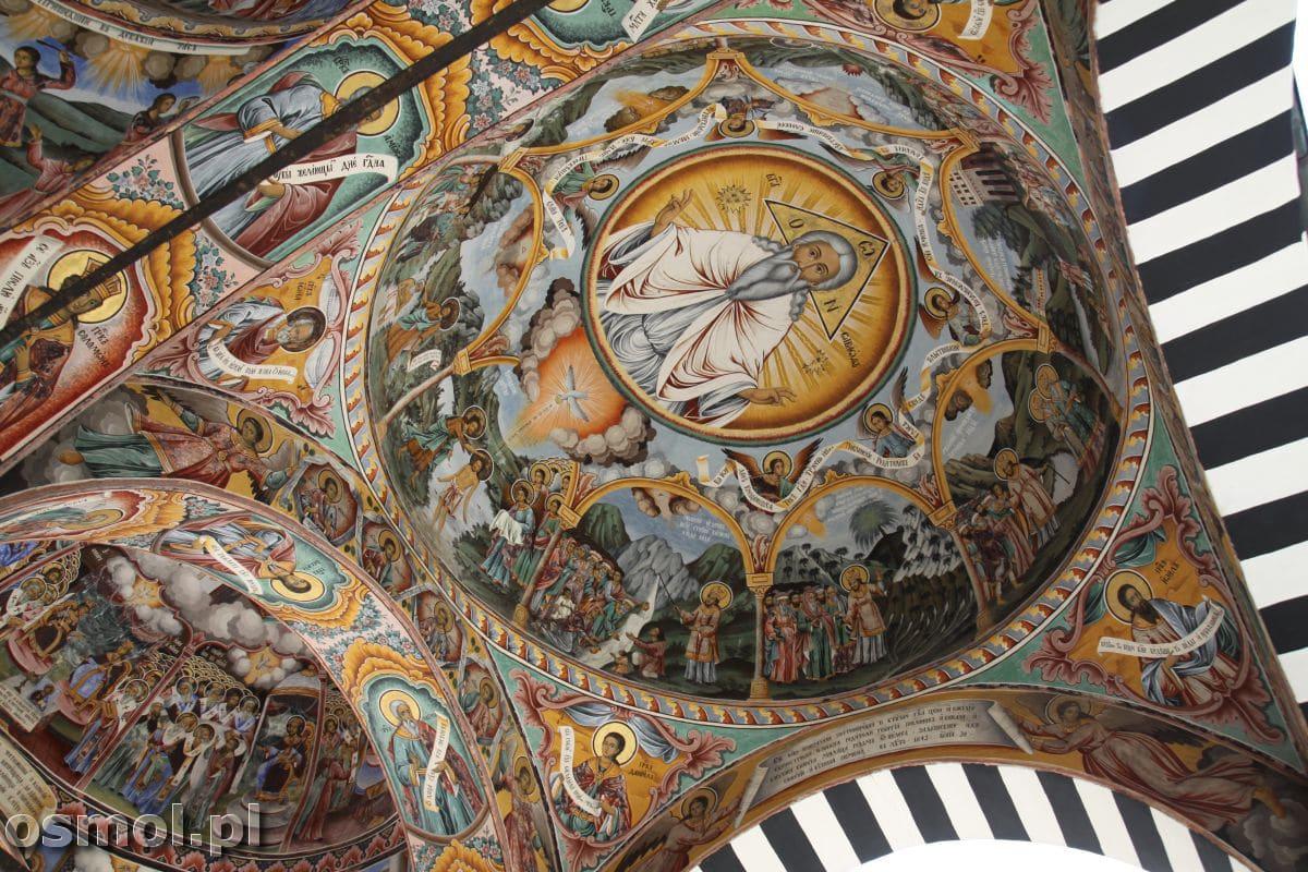 Malowidla w klasztorze w Rila