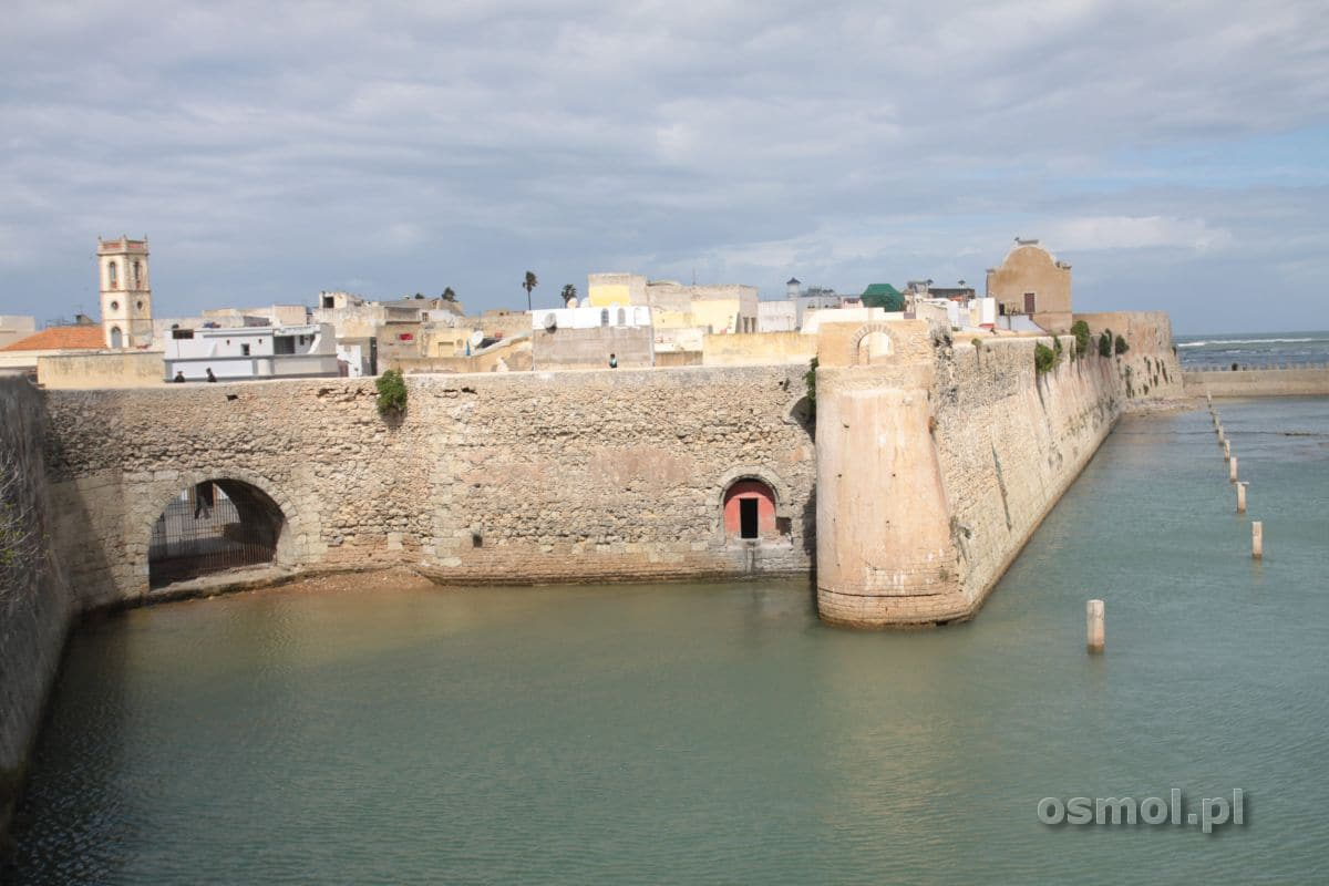 El Dzadida Maroko widok na fortece