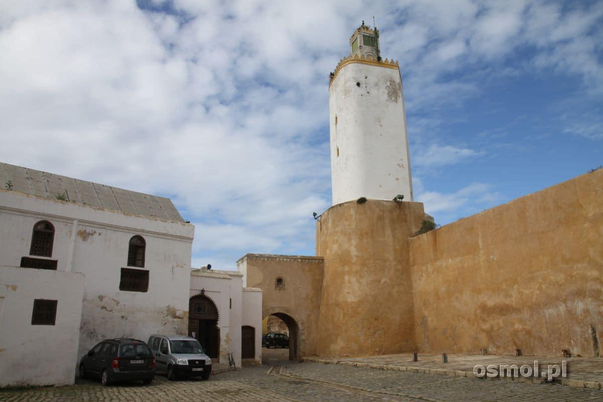 Al Dżadida minaret z dawnej latarni morskiej