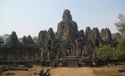 Świątynia w Angkorze Kambodża