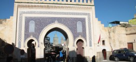 Brama Bab Bou Jeloud. Jeden z symboli Fezu