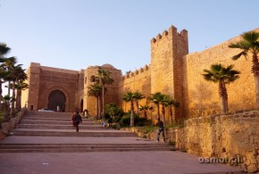 Kazba w Rabacie brama wejściowa