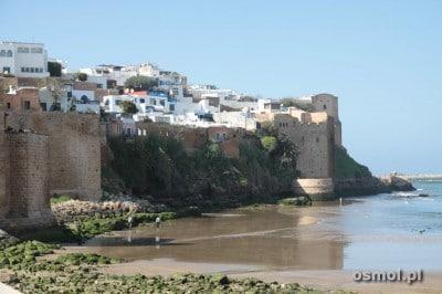 Rabat Maroko - Kazba Al-Udaja widziana od strony rzeki