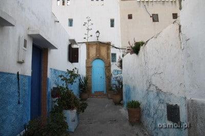 Zaułek w kazbie Al-Udaja. Rabat Maroko
