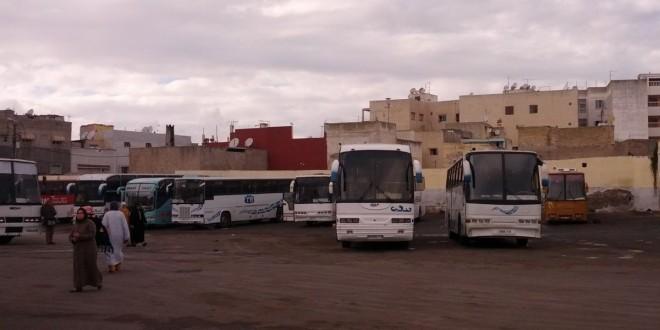 Dworzec autobusowy Maroko