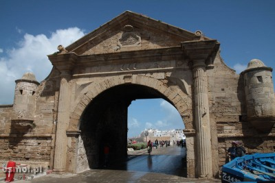 Essaouira Maroko brama do portu