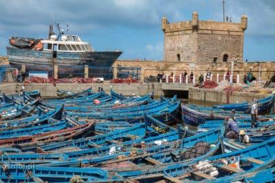 Port w Essaouirze