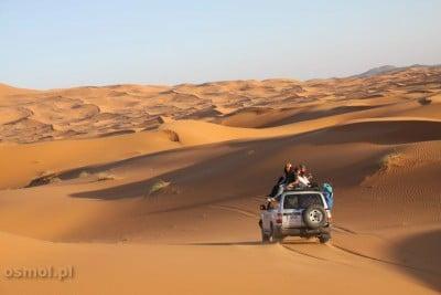 Maroko. Wycieczka jeepem na pustynię