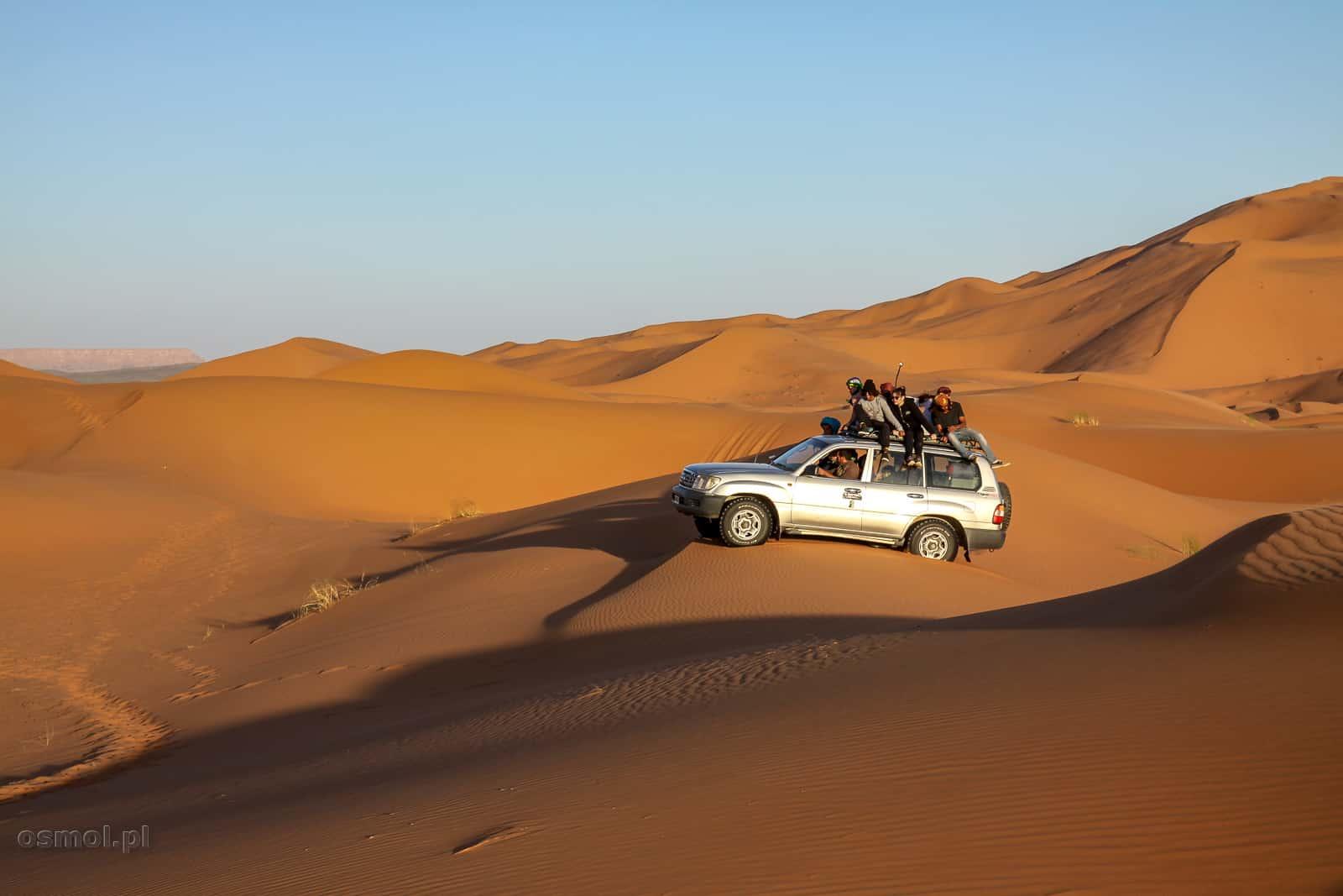 Samochodowe safari po w Maroku