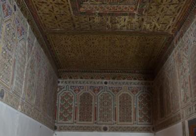 Warzazat mozaika na ścianie i suficie kasby