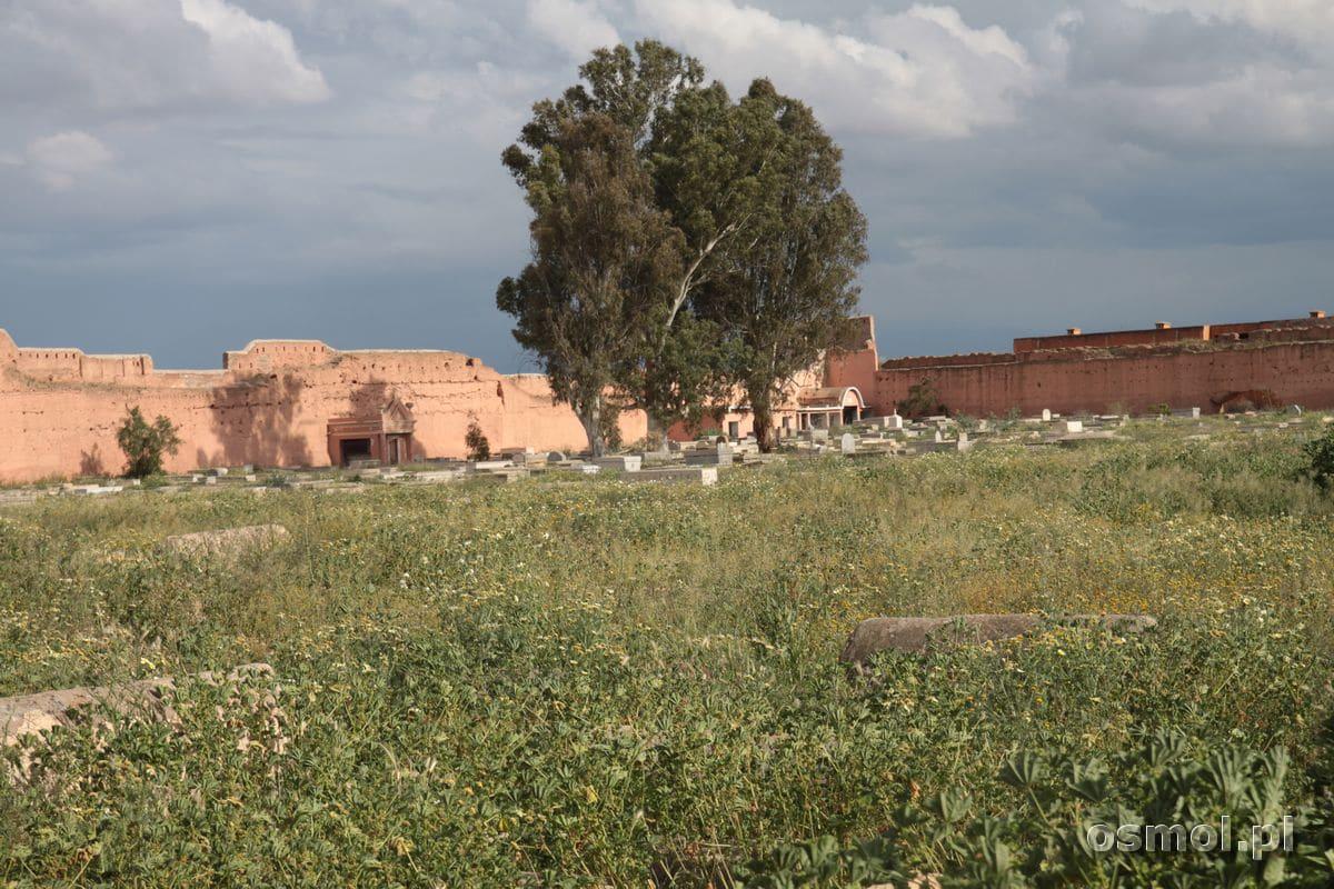 Mellah żydowska dzielnica w Marakeszu