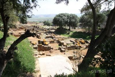 Ruiny w Szalla - Maroko