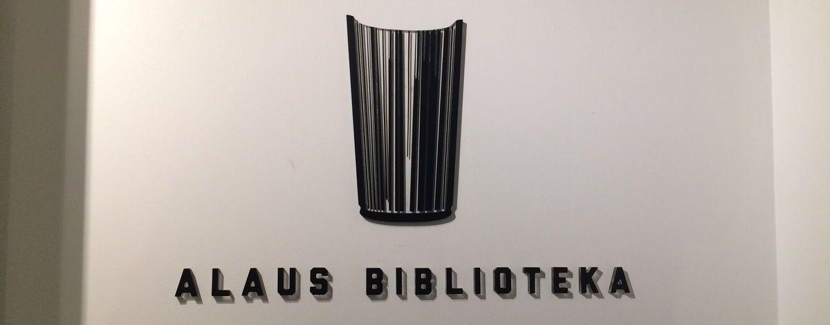 Alaus Biblioteka - Biblioteka piwa w Wilnie - Logo