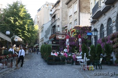 Skadarlija w Belgradzie