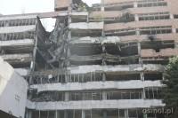 Budynek zbombardowany przez NATO w Belgradzie
