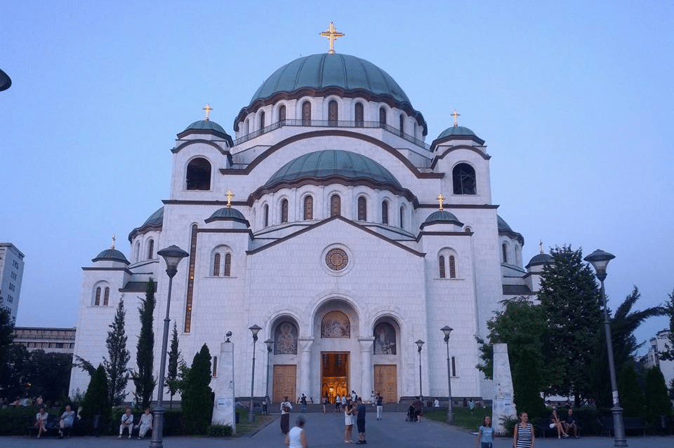 Cerkiew świętego Sawy w Belgradzie