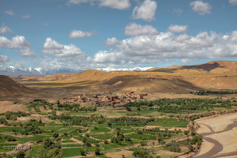 Panorama Wysokiego Atlasu Maroko