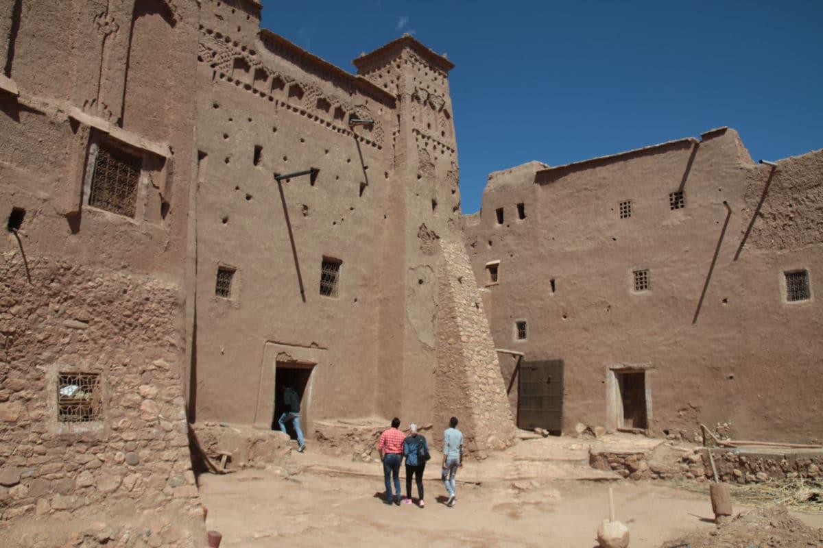 Mury Kazby w Maroku - Ait Ben Haddou
