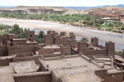 Kazba Ait Ben Haddou w Maroku