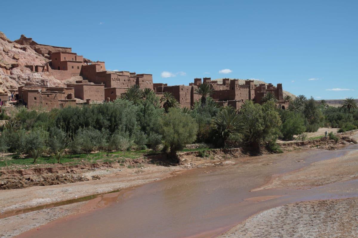 Maroko - kazba Ait Ben Haddou