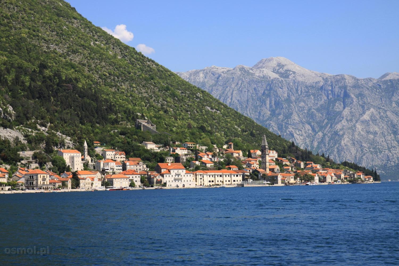 Panorama Perastu w Czarnogórze