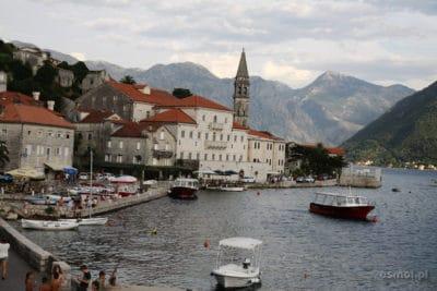 Perast - widok na miasteczko
