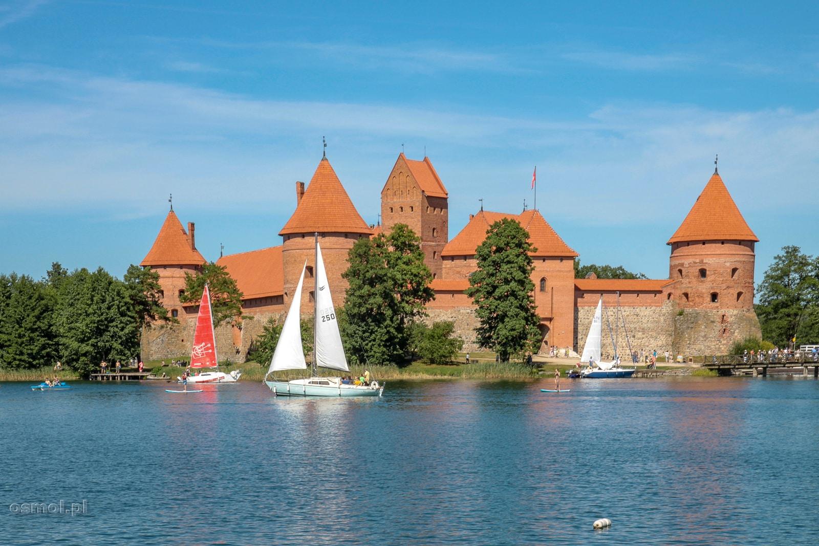 Zamek w Trokach - Litwa