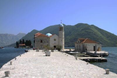 Wyspa matki boskiej na skale - Czarnogóra
