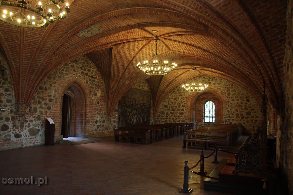 Zamek w Trokach sala reprezentacyjna