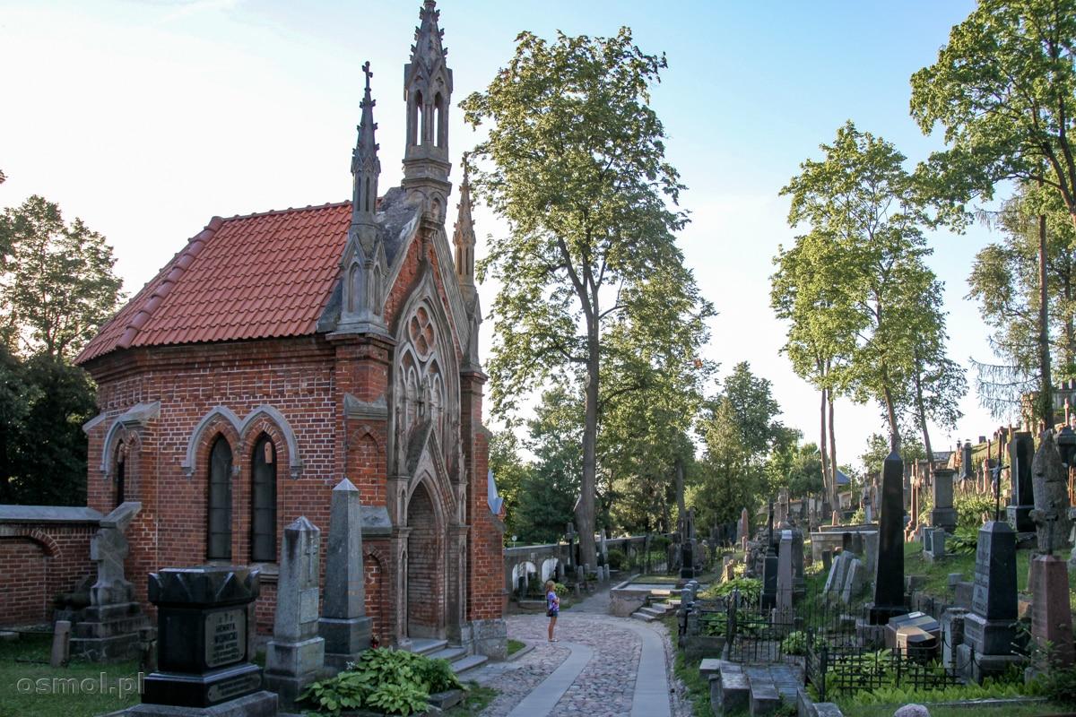 Kaplica na cmentarzu na Rossie w Wilnie