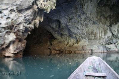 Jaskinia Kong Lor - wejście do jaskini od drugiej strony