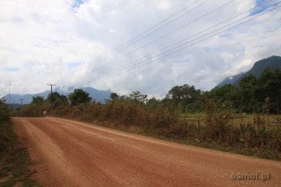 Droga okolice Vang Vieng
