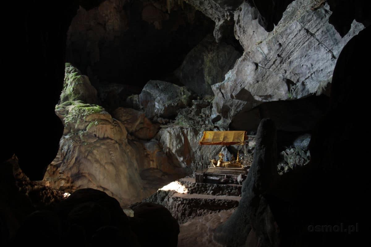Jaskinia obok Vang Vieng
